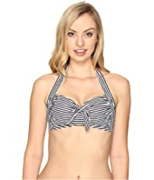 Seafolly - Riviera Stripe Soft Cup Halter Top