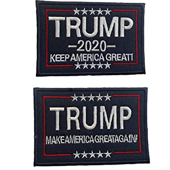 "Donald Trump USA Republican Polictics 3/"" Sublimation Iron Or Sew On Patch Badge"