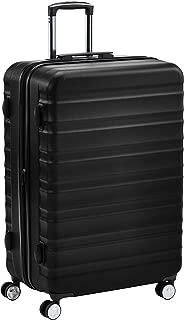 AmazonBasics Premium Hardside Spinner Suitcase Luggage with Wheels