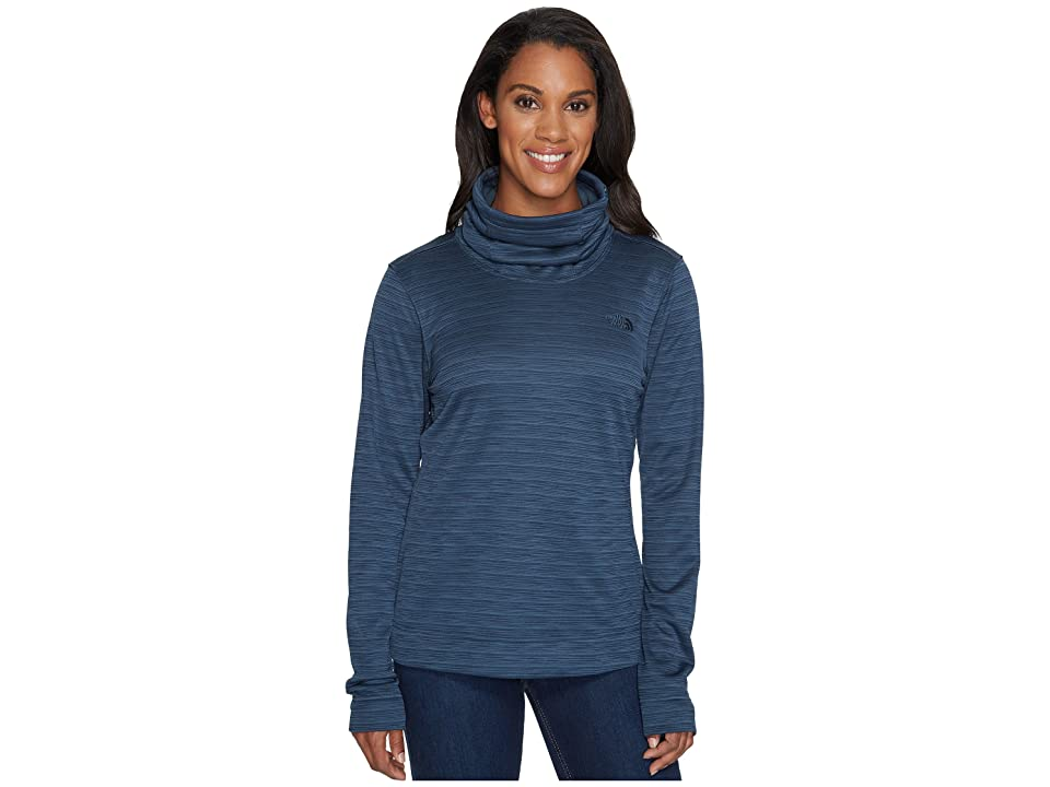 The North Face Novelty Glacier Pullover (Ink Blue Stria) Women