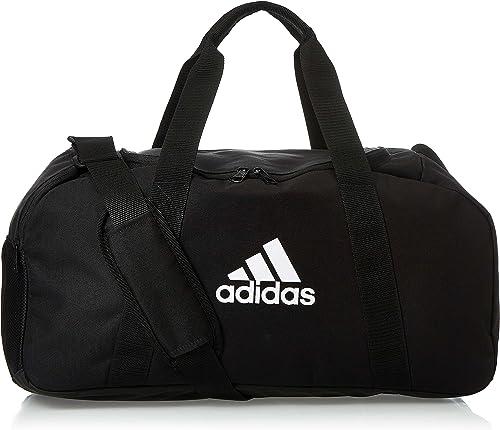 adidas Tiro Dufflebag S Sac en toile Mixte Adulte, Black/White, FR Unique (Taille Fabricant : NS),Noirblack/White,FR ...