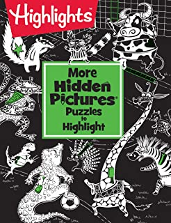 More Hidden Pictures® Puzzles to Highlight (Highlights™ Hidden Pictures® Puzzles to Highlight Activity Books)