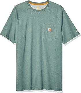 Carhartt Men's Force Cotton Delmont Short Sleeve T-shirt (Regular and Big & Tall Sizes)