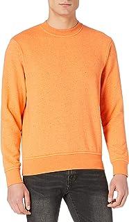 Scotch & Soda Men's Melange Felpa Crewneck Sweat Sweatshirt