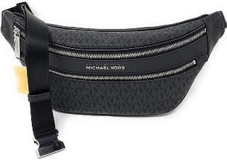 Michael Kors Kenly Medium Crossbody Waist Pack Black Signature