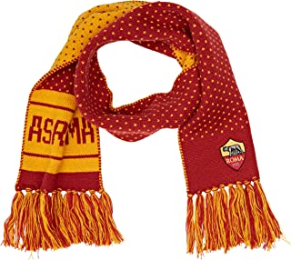 Unico Scaldacollo Unisex Marrone AS Roma Wolf Logo Adulto