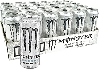 Monster Energy Drink Zero Ultra 24 x 500mL