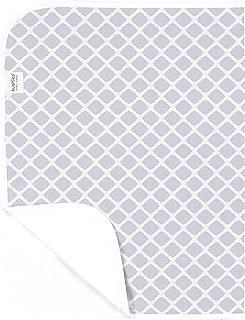 Kushies Baby Deluxe Change Pad, Lilac Lattice
