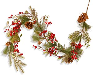 National Tree 60 Inch Berry and Cones Garland (RAC-JS51035)