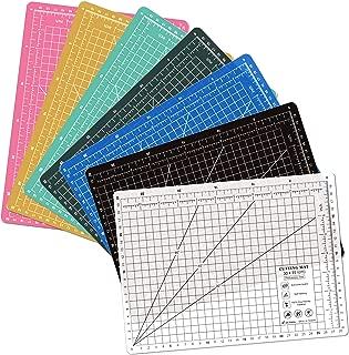 A4 (12L x 9W Inch) (300 x 220 mm) Self Healing Eco Friendly Colorful Cutting Mat (Black)