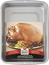 Wilton Recipe Right Non-Stick Roasting Pan, Excellent for Turkeys, Roasts, Chickens and Hams, A Must Have for Everyday Use...