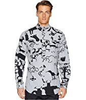 Vivienne Westwood - Caveman Print Two-Button Krall Shirt