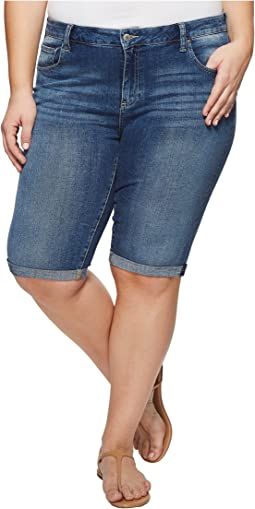 Lucky Brand - Plus Size Ginger Bermuda Shorts in Sunbeam