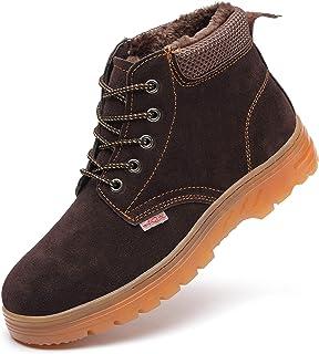 Da Uomo GOODYEAR Leather COMPOSITO Sicurezza Puntale Work Boots Scarpe Da Ginnastica Taglia