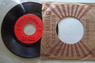 big iron / saddle tramp 45 rpm single