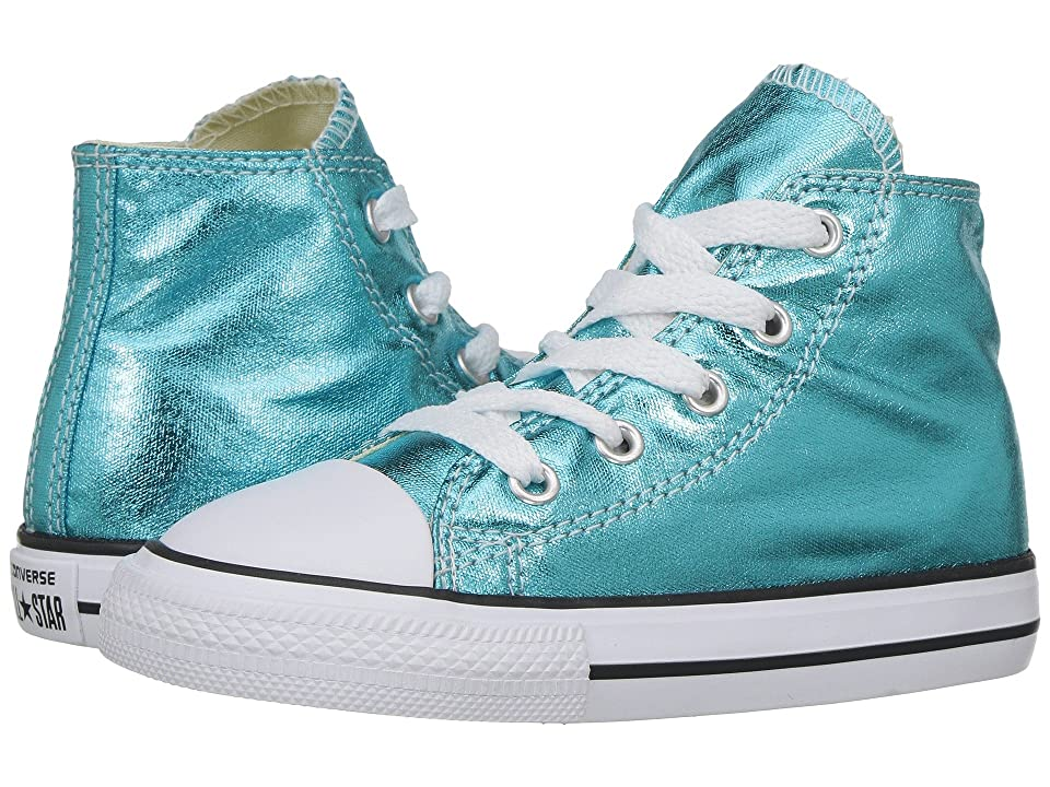 5d22e68c8b4612  35.00 More Details · Converse Kids Chuck Taylor All Star Hi Metallic ( Infant Toddler) (Fresh Cyan