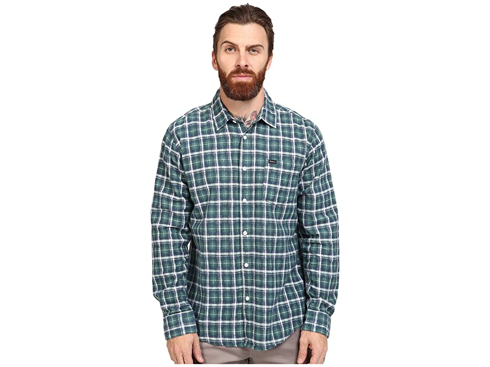 RVCA Soon As Long Sleeve Woven (Alpine) Men