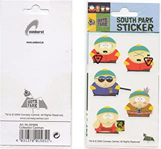 South PArk Sticker Comedy Central Cartman