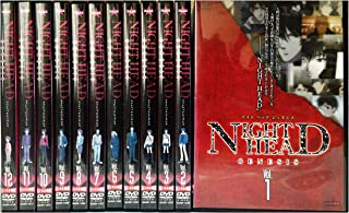 JAPANESE TV DRAMA NIGHT HEAD GENESIS [rental omission] (12 volumes in total) [Marketplace DVD set product] (JAPANESE AUDIO , NO ENGLISH SUB.)