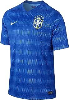 Brazil Away Men's Soccer Stadium Jersey (Blue)
