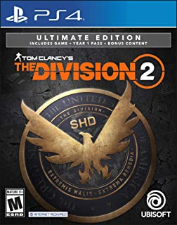 Tom Clancy's The Division 2 Ultimate Edition - PS4 [Digital Code]