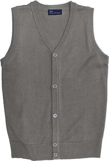 Blue Ocean Kids Cardigan Sweater Vest
