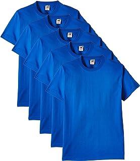 Fruit of the Loom Men's Heavy T-Shirt Pack of 5