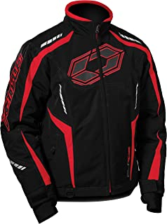 Castle X Blade G3 Mens Snowmobile Jacket - Red (SML)