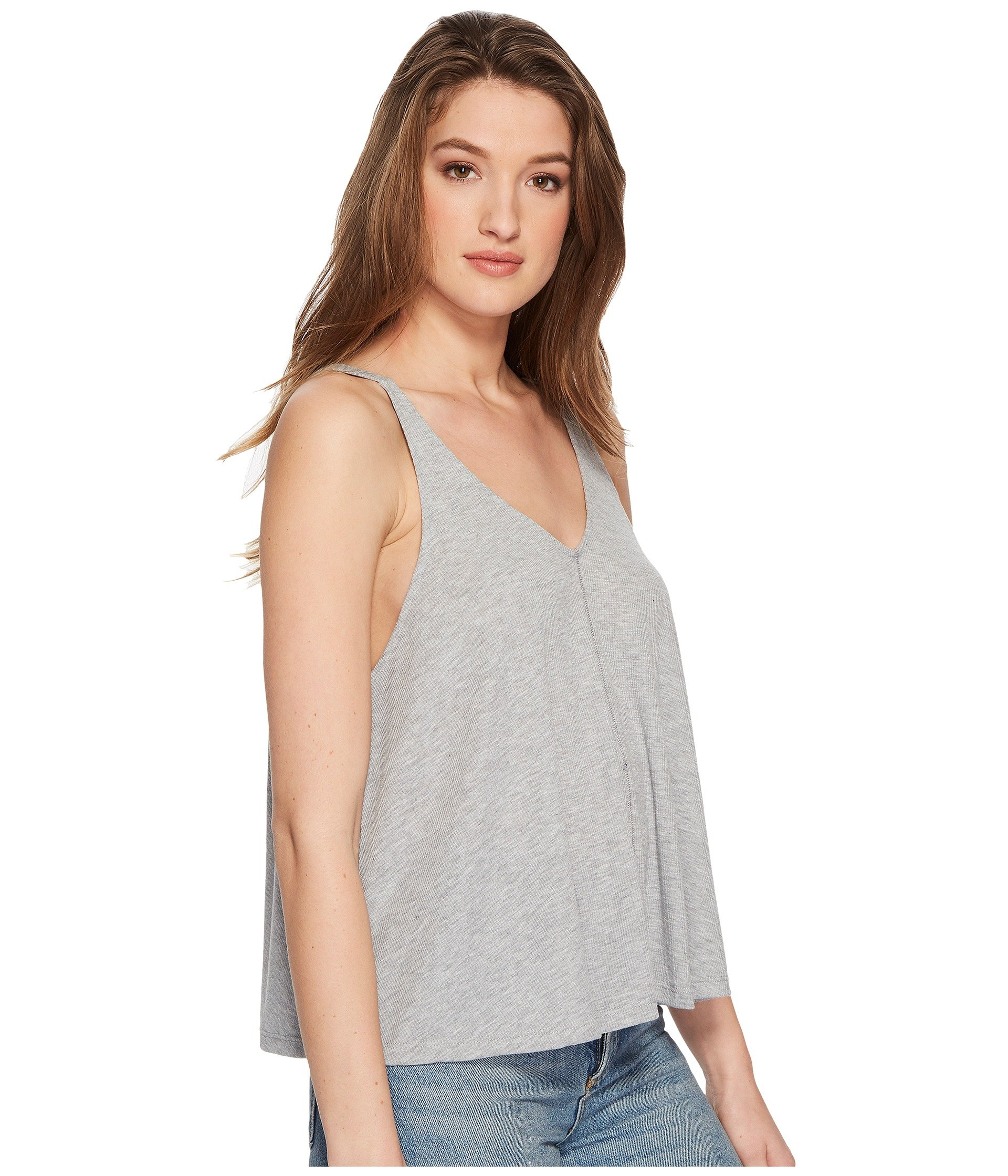 Tank Dani People Top Grey Free F7nEAUqwX