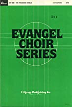 Ten Thousand Angels SATB Sheet Music with Piano Accompaniment and Guitar Chords