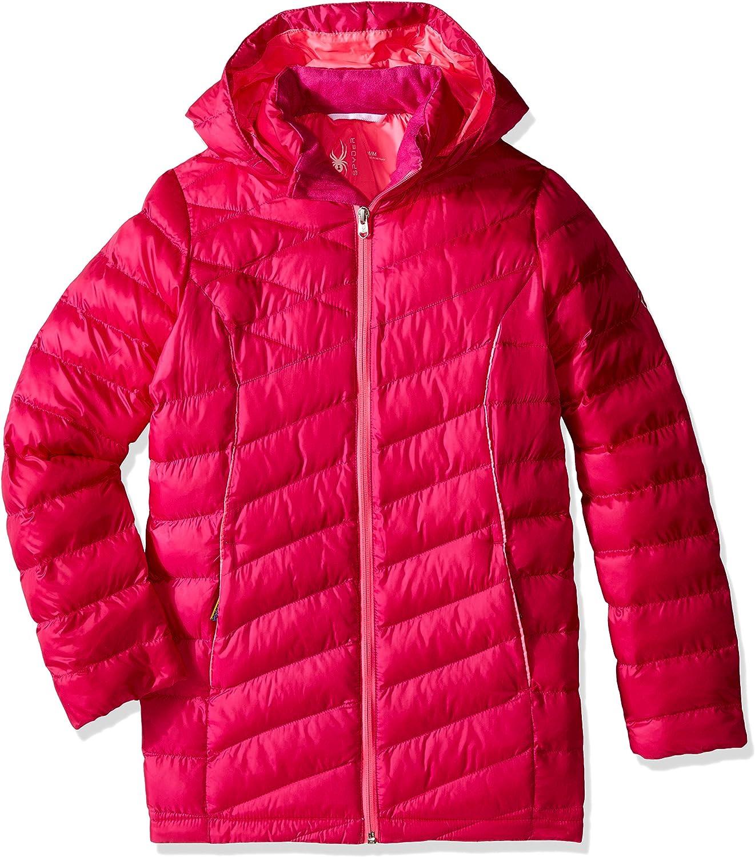 Spyder Girls Timeless Hoody Down Jacket