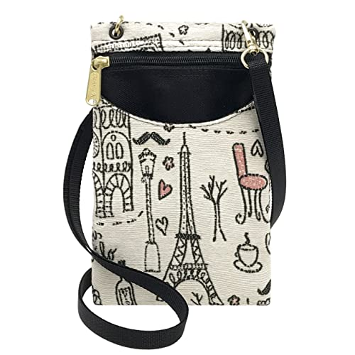 bfba54bb459d Eiffel Tower Handbags: Amazon.com