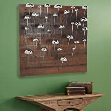 Deco 79 WOOD WALL DÉCOR, Extra Large, Brown