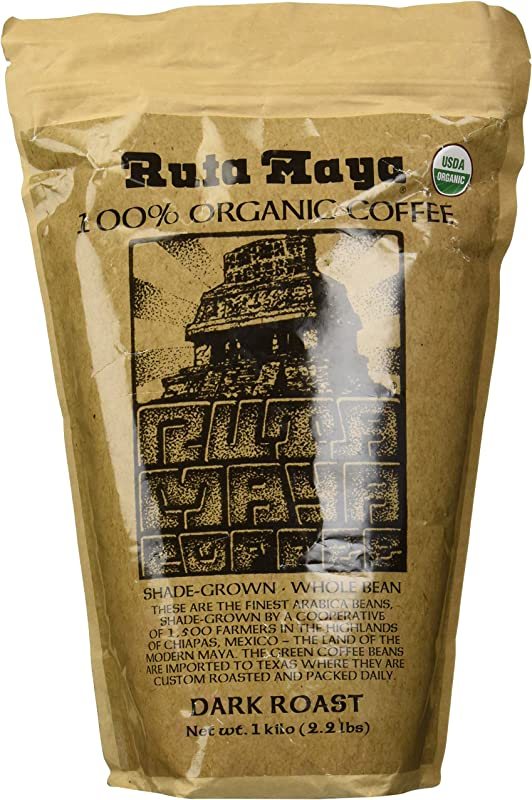Ruta Maya Coffee Coffee Dark Roast Organic 35 2 Ounce