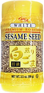 JFC Roasted Sesame Seed, White, 3.5 Ounce