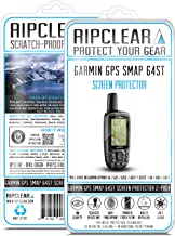 Ripclear Compatible with Garmin GPSMAP 64ST/64S/64SC GPS Screen Protector Kit - Military Grade Scratch-Resistant, Smooth Touch, Anti-Glare - 2-Pack