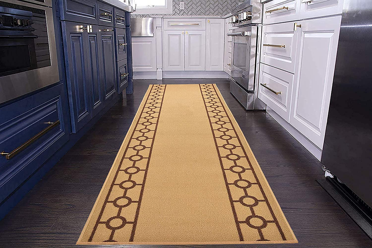 Max 67% OFF Custom Size Runner Rug Chain Border Wide 36 x Y inch Max 61% OFF Roll