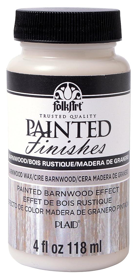 FolkArt Painted Finishes (4 Ounce), 5107 Barnwood Wax