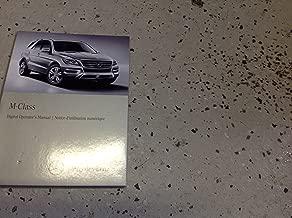 2013 Mercedes Benz ML ML350 ML550 ML63 Class Digital Owners Operators Manual CD
