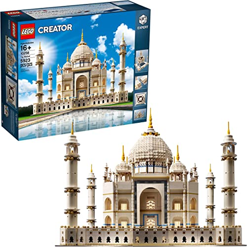 popular LEGO Creator Expert discount Taj Mahal 10256 Building Kit online sale and Architecture Model, Perfect Set for Older Kids and Adults (5923 Pieces) sale
