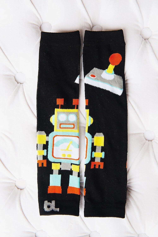 Baby Leggings Leg Warmers (Robot)