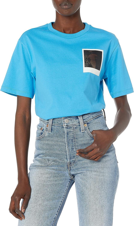 Lacoste Women's Short Sleeve Polaroid Graphic T-Shirt