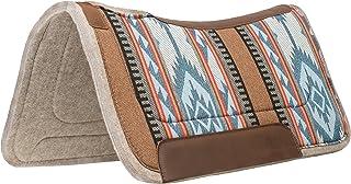Weaver Leather Herculon Working Contoured Saddle Pad with Wool Felt Bottom