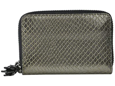 AllSaints Fetch Cardholder (Gunmetal) Handbags