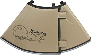 The Comfy Cone Pet Recovery Collar by All Four Paws, Medium, Tan,Medium 20 cm