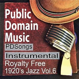 Thomas Edison Records Instrumental Public Domain Music 1920s License Free Royalty Free Songs Vol.6