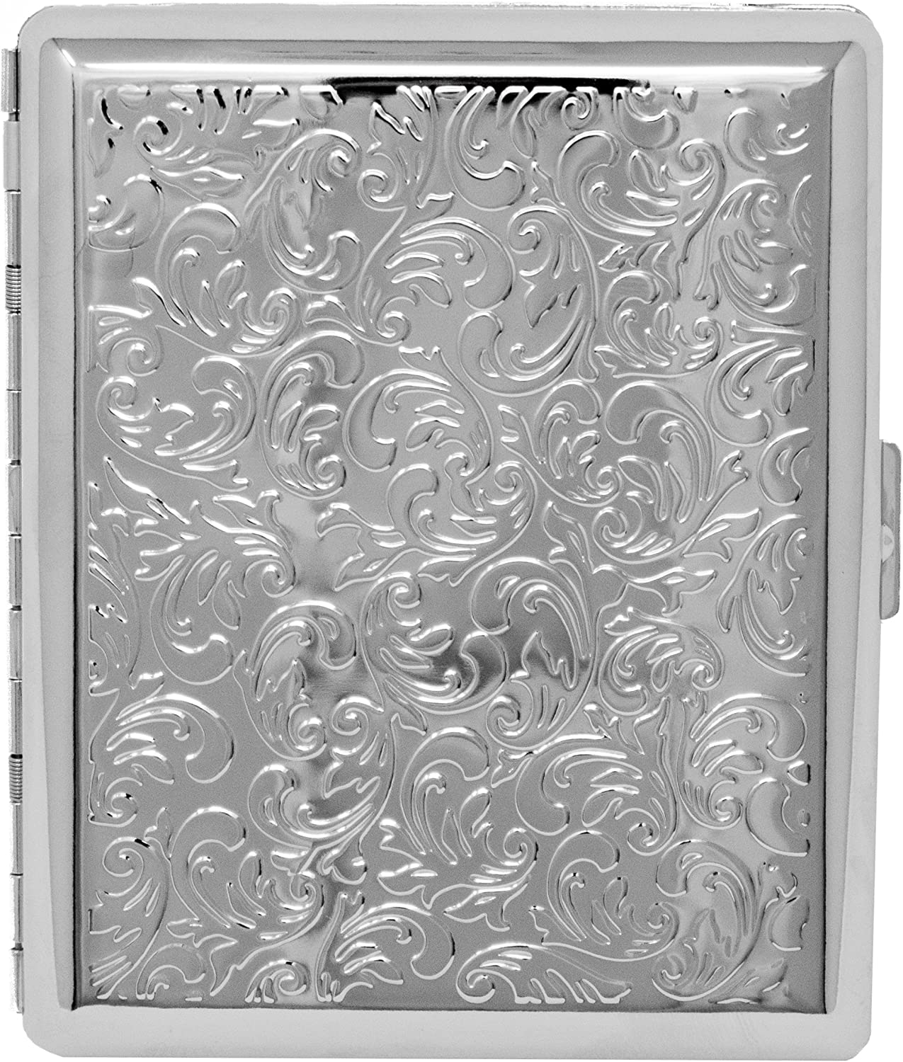 Silver Victorian Print Full Pack Ranking TOP18 C 100s Cigarette Cheap mail order shopping Metal-Plated
