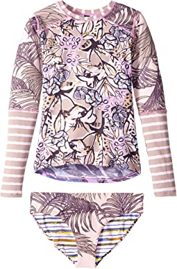 Açaí & Violets Rashguard (Toddler/Little Kids/Big Kids)