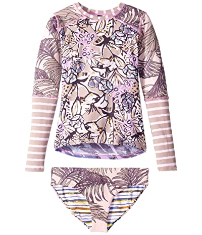 Maaji Kids Acai Violets Rashguard (Toddler/Little Kids/Big Kids) (Multicolor) Girl