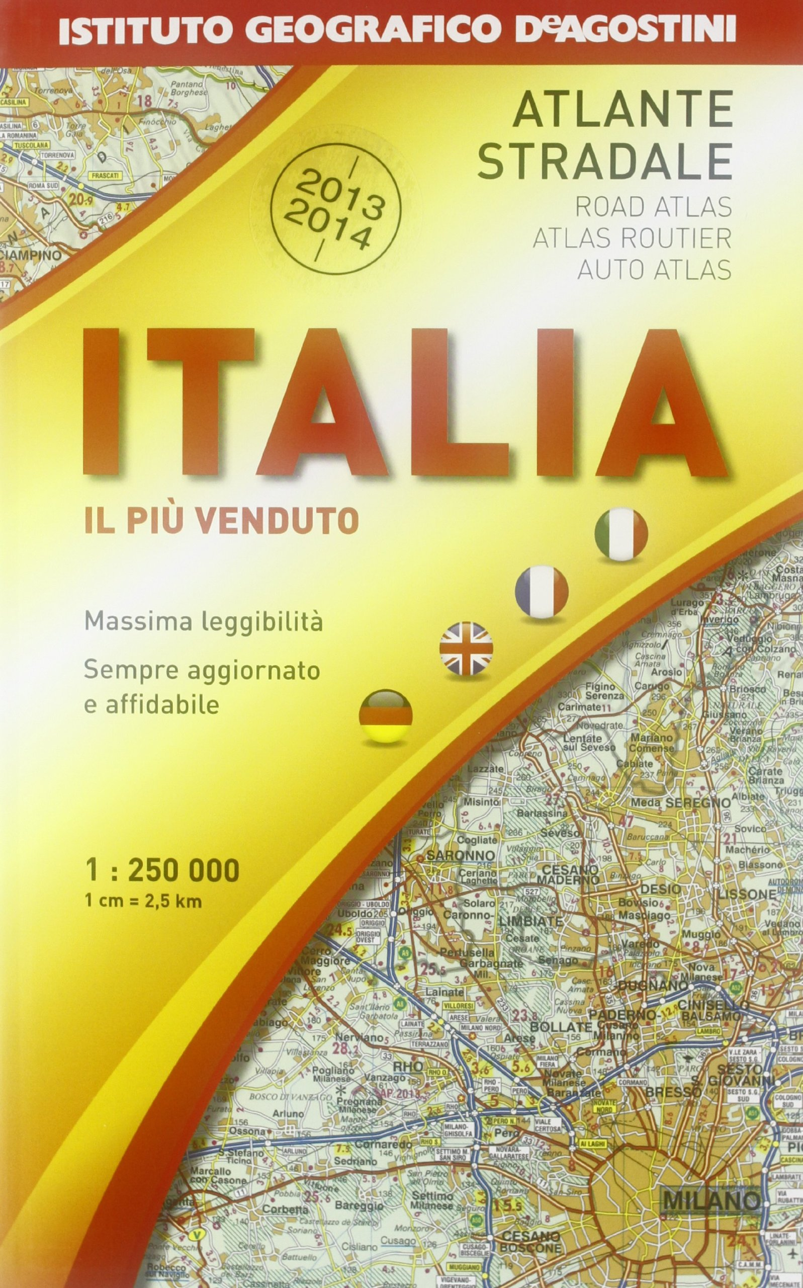 Download Atlante Stradale Italia 1:250.000 2013-2014 